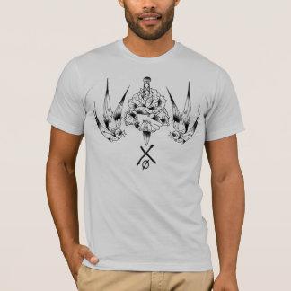 Camiseta NOTxDEAD aumentou/T do pardal