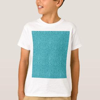 Camiseta nouveau da arte, cerceta, verde, art deco,
