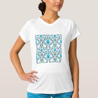 Camiseta nouveau da arte, vintage, floral, époque do belle,