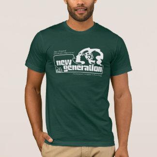 Camiseta Nova geração no verde