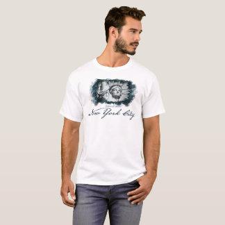 Camiseta Nova Iorque, estátua da liberdade