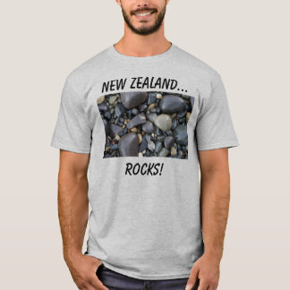 Camiseta Nova Zelândia… Rochas!