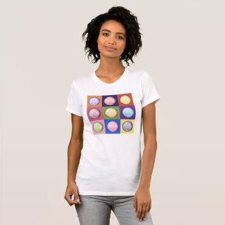 Camiseta Nove bolas de golfe