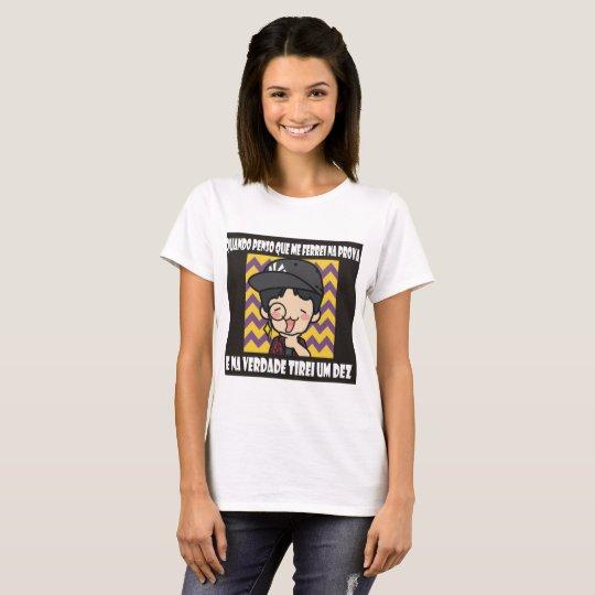 Camiseta Nove é bom Dez é ótimo, :D