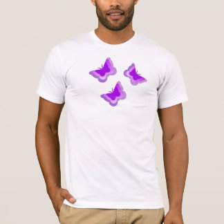Camiseta NOVO! Borboletas da fibromialgia
