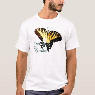 Camiseta ~ novo Swallowtail da criação