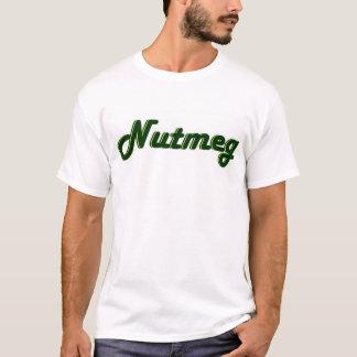 Camiseta Noz-moscada - velho (pés fechados do ya)