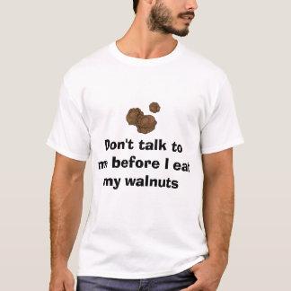 Camiseta Nozes