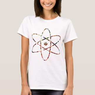 Camiseta Nucleas nuclear - design vermelho da faísca