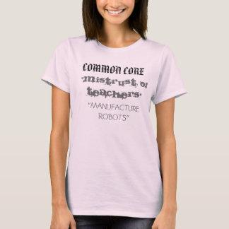 Camiseta Núcleo comum - desconfiança