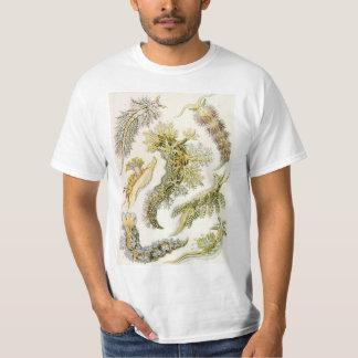 Camiseta Nudibranchia do vintage, Slugs de mar por Ernst