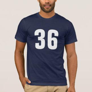 Camiseta Número 36