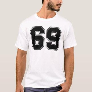 Camiseta Número 69