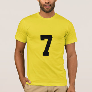 Camiseta Número afortunado 7