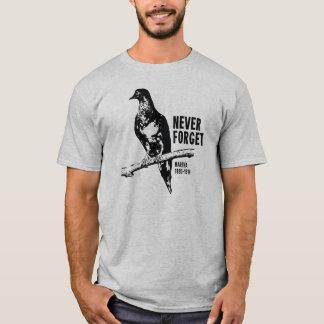 Camiseta Nunca esqueça o pombo de passageiro Martha