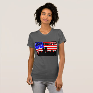 Camiseta Nunca esqueça um CINZA de 911 TSHIRT
