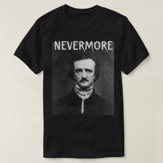 Camiseta Nunca mais t-shirt de Edgar Allan Poe