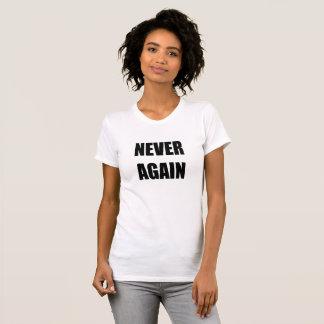 Camiseta Nunca outra vez