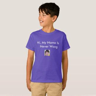Camiseta Nunca Wong T