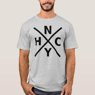 Camiseta NYHC - T-shirt cinzento incondicional de New York