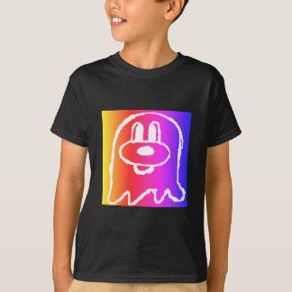 Camiseta O 鬼鬼 do preto & do arco-íris caçoou o t-shirt 1 de