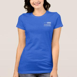 Camiseta O 13:4 dos romanos dilui Blue Line