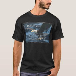 Camiseta O 40:31 de ISAIAH monta acima com as asas como