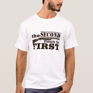 Camiseta ò A alteração protege a ?a alteração
