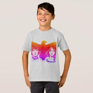Camiseta O ~ a história do falcão ilustrou o ~