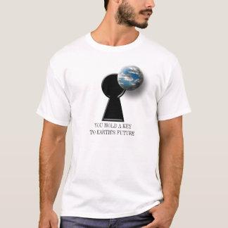 Camiseta O activismo ambiental futuro da terra