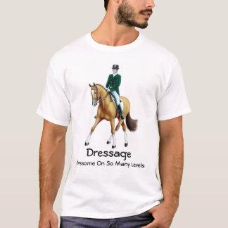 Camiseta O adestramento é t-shirt impressionante