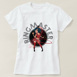 Camiseta O adulto do Ringmaster (Brunette) & caçoa todos os