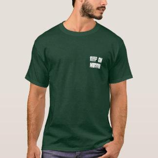 Camiseta O adulto mantem-se no t-shirt de Muddin ATV