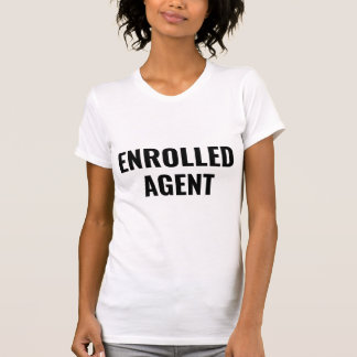 Camiseta O agente registrado