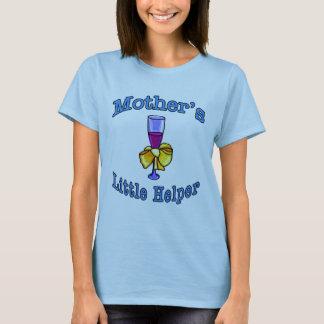 Camiseta O ajudante pequeno da mãe: Vinho