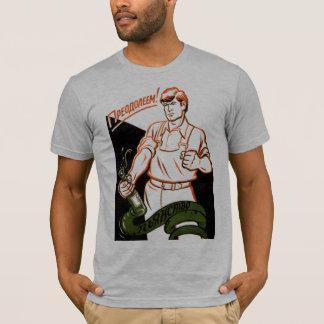Camiseta O álcool é um cobra!