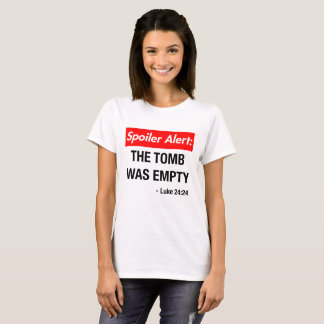 Camiseta O alerta da desmancha prazeres o túmulo estava