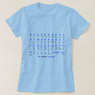 Camiseta O alfabeto de Braille