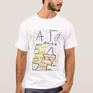 Camiseta O alfabeto de Lucia