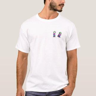 Camiseta O alfabeto galáctico padrão com afiado (parte