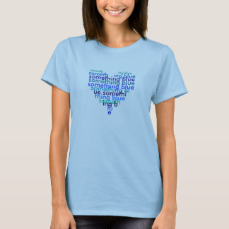 Camiseta O algo T azul