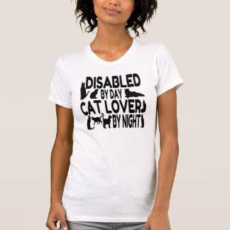 Camiseta O amante do gato desabilitou