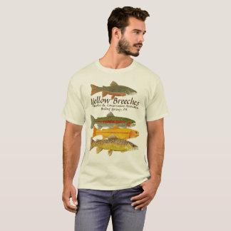 Camiseta O amarelo carrega a versão 2 dos pescadores