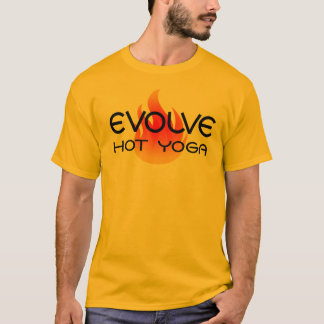 Camiseta O amarelo evolui o T