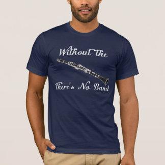 Camiseta O Amer básico dos homens do clarinete. App. T
