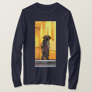 Camiseta O amigo quer jogar a camisola