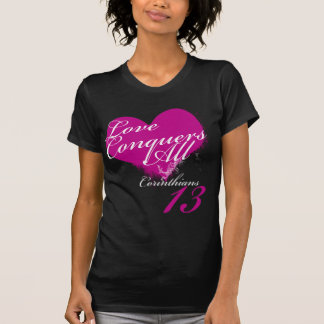 Camiseta O amor conquista tudo
