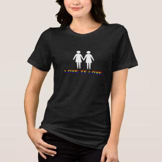 Camiseta O amor de LGBT é amor