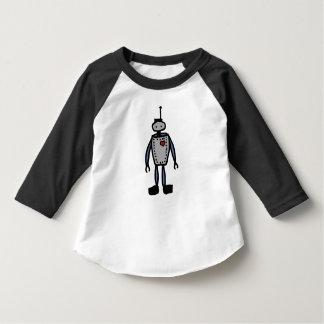 Camiseta O amor do robô caçoa o T do basebol