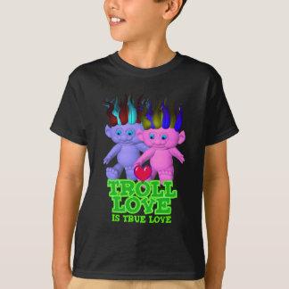Camiseta O amor do troll é amor verdadeiro